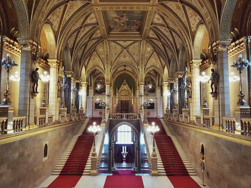 Parlament sala obrazy stock