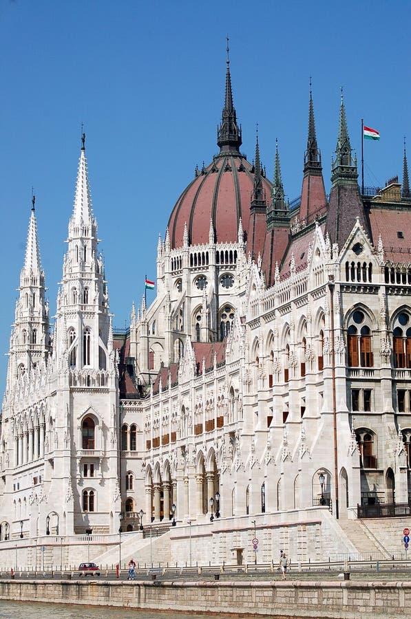 Parlament ungherese fotografia stock libera da diritti