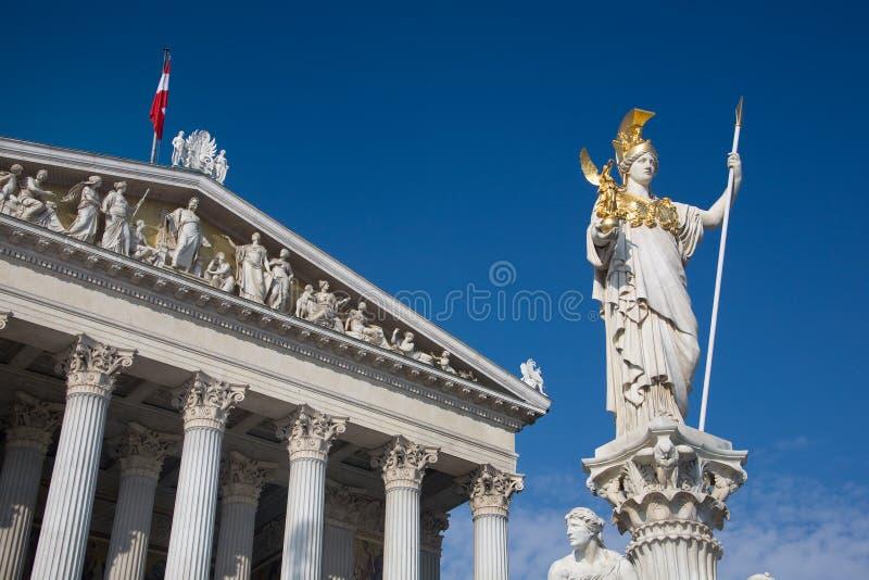 parlament Vienna austria obraz stock