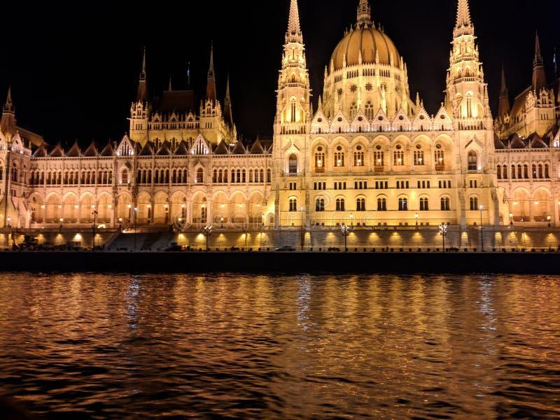 Parlament von Budapest stockbilder