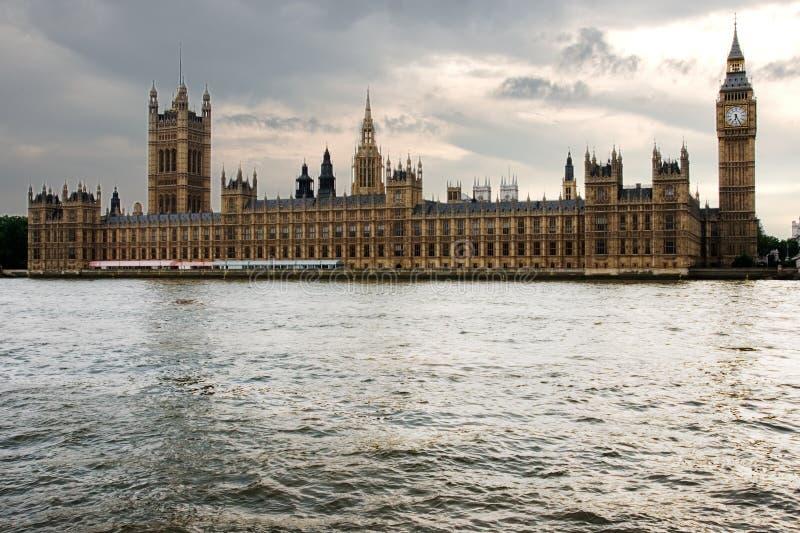 Parlament von London stockfotografie
