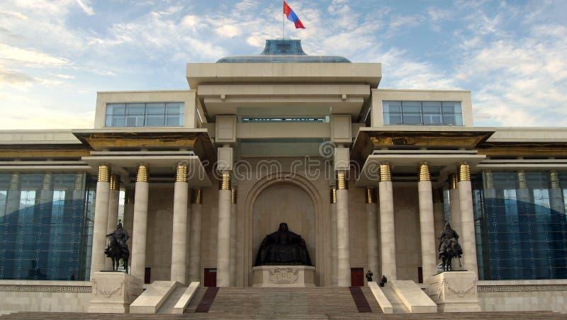 Parlament von Mongolei Ulaanbataar - Ulan Bator lizenzfreies stockbild