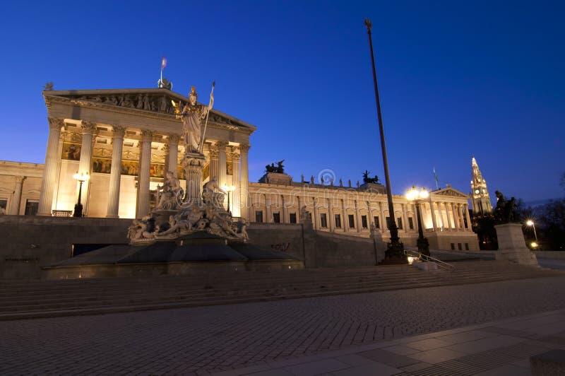 Parlament w Wiedeń zdjęcia royalty free
