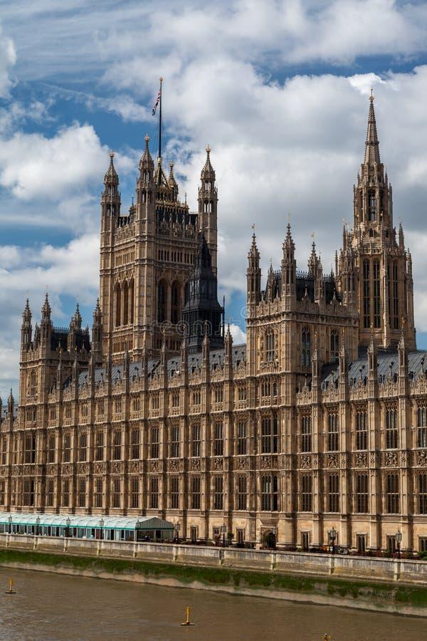 Parlamentbyggnad England Arkivfoto