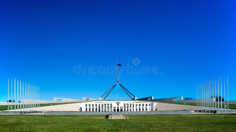 Parlamenthuset av Australien arkivbild