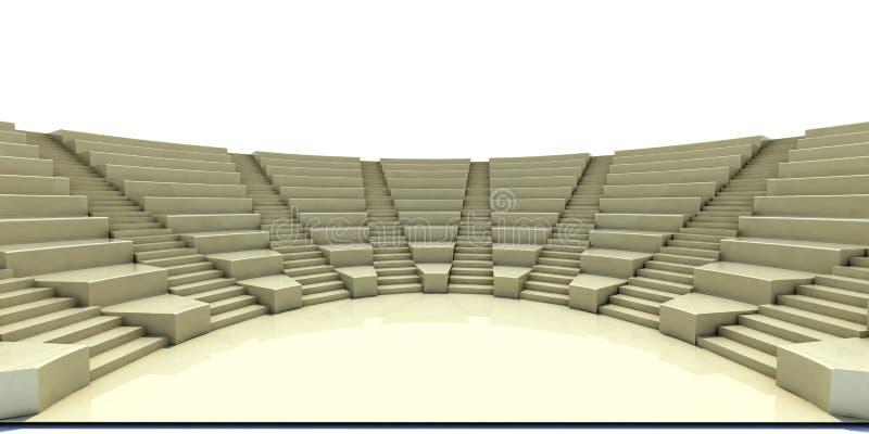 Parlamento 3d illustrazione vettoriale