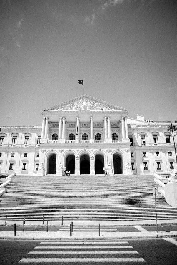 Parlamento DE Lissabon - Lissabon Parlament royalty-vrije stock foto