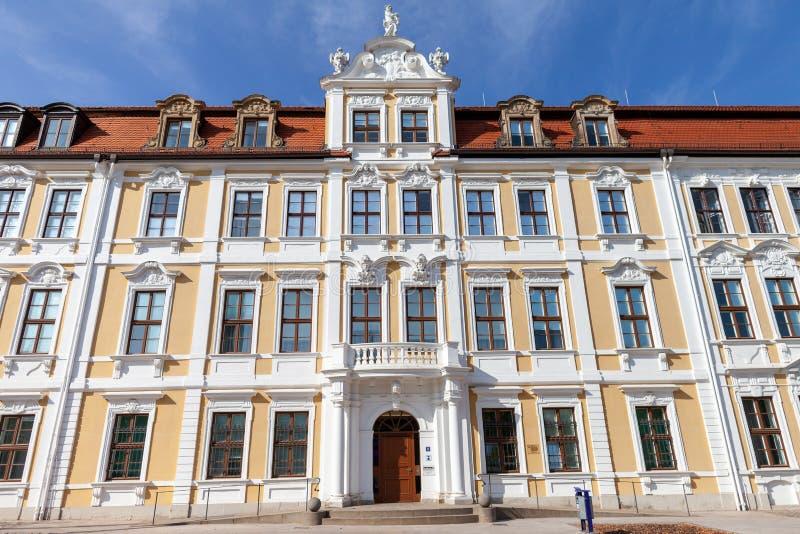 Parlamento degli stati federati della germania della Sassonia-Anhalt immagine stock libera da diritti