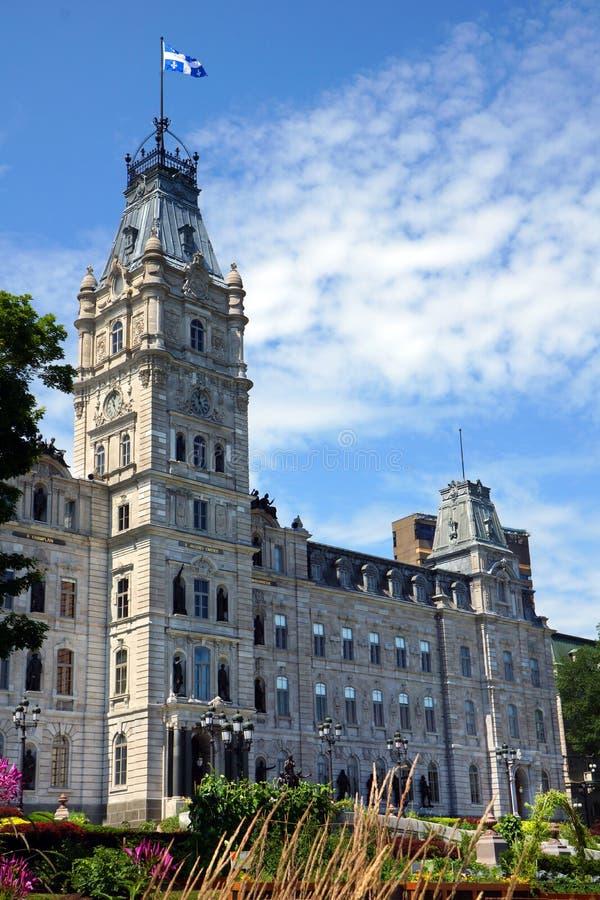 Parlamento della Quebec immagine stock libera da diritti