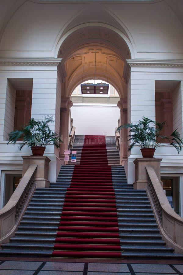 Parlamento dello stato a Berlino fotografia stock libera da diritti