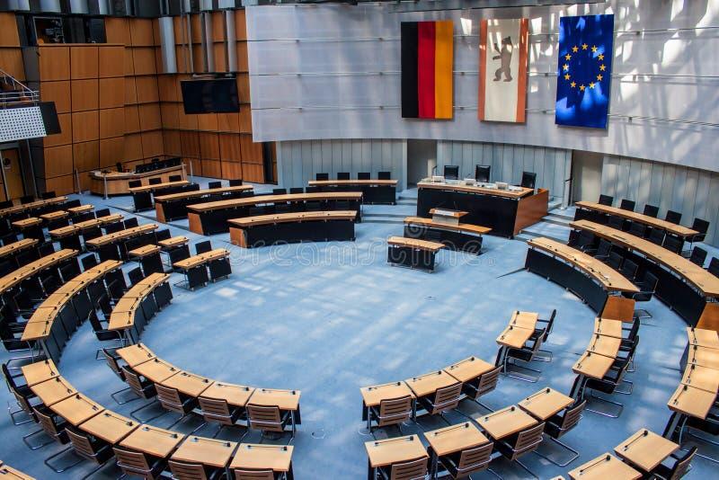 Parlamento dello stato a Berlino fotografie stock libere da diritti