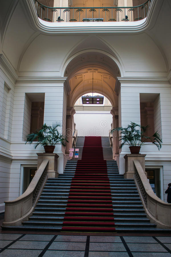 Parlamento dello stato a Berlino fotografia stock