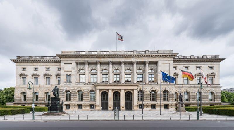 Parlamento dello stato a Berlino immagini stock libere da diritti