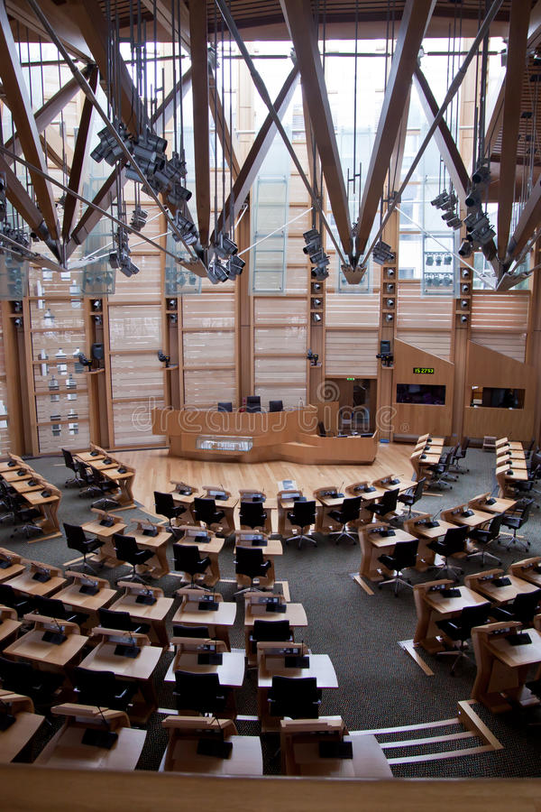 Parlamento di Edimburgo immagine stock libera da diritti