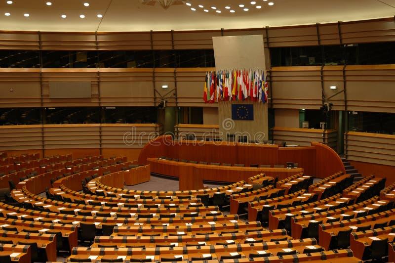 Parlamento Europeo imagenes de archivo