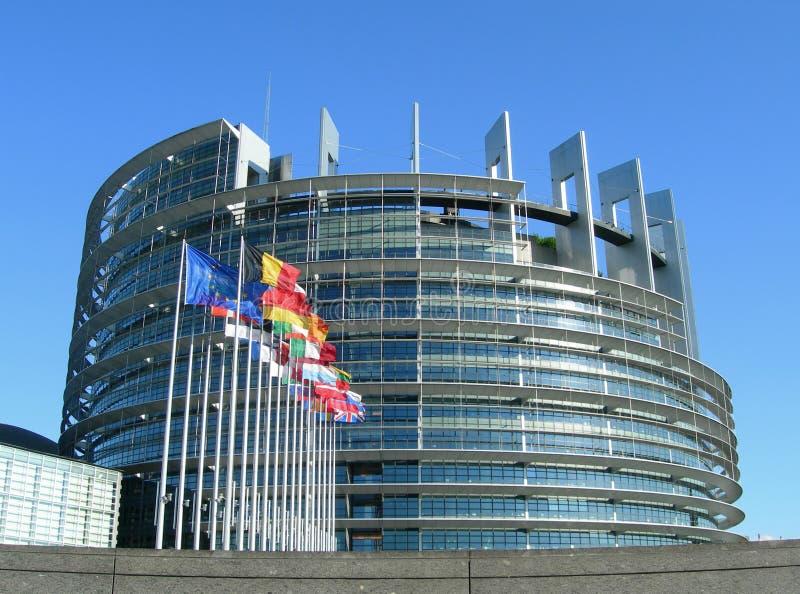Parlamento Europeu em Strasbourg imagem de stock royalty free