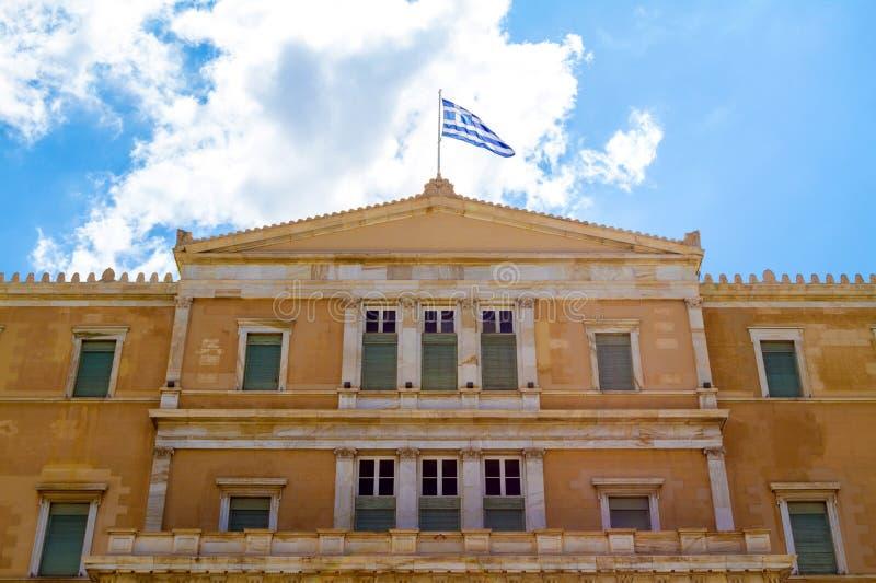 Download Parlamento greco immagine stock. Immagine di casa, facade - 56889621