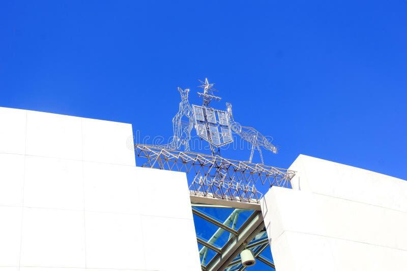 Parlamentsgebäude stockbild