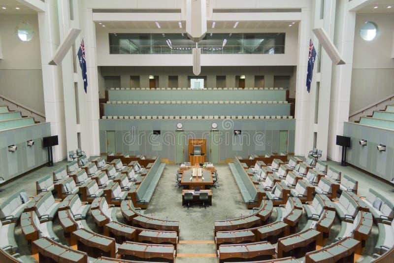Parlamentsgebäude, Canberra, Australien lizenzfreie stockfotos