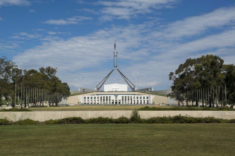 Parlamentsgebäude, Canberra, Australien stockbild