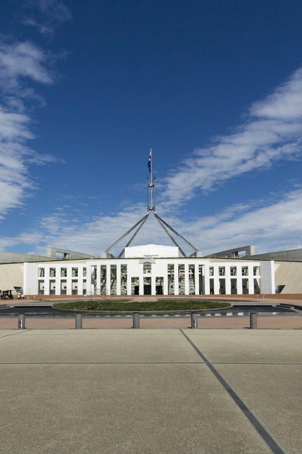 Parlamentsgebäude, Canberra, Australien stockfotografie