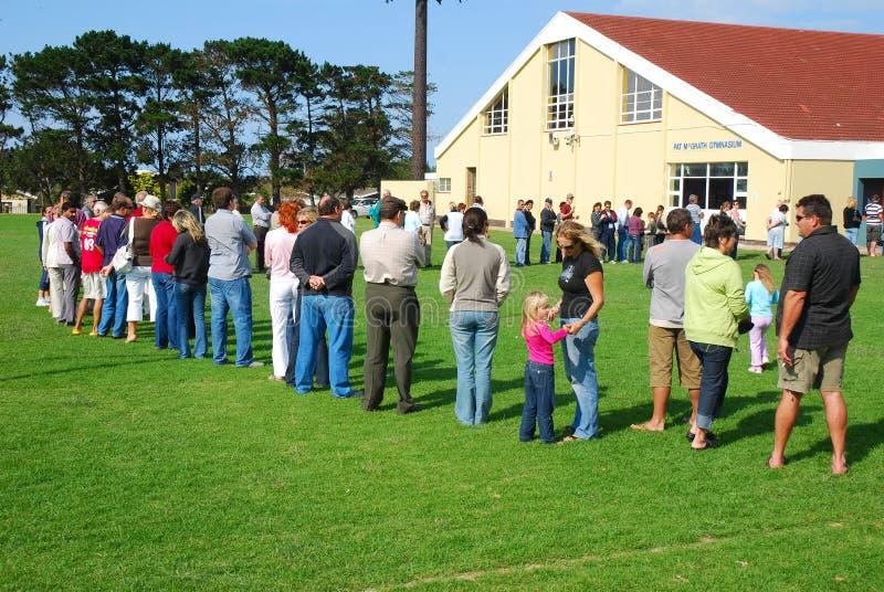 Parlamentswahl Südafrika 2009 stockfoto