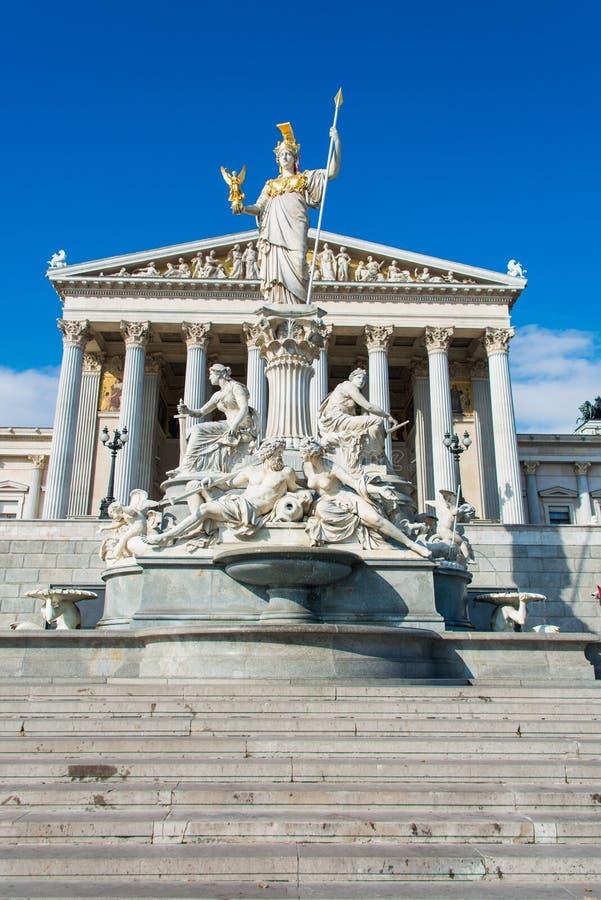 parlamentu austriackiego zdjęcia royalty free