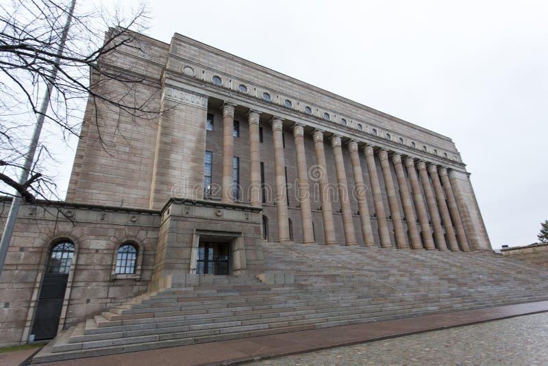 Parlamentu dom w Helsinki zdjęcie royalty free