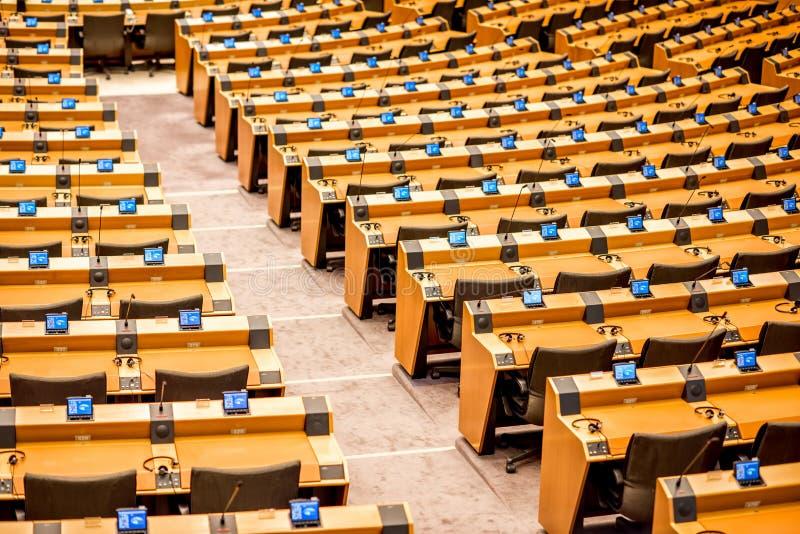 Parlamentu Europejskiego wnętrze zdjęcie royalty free