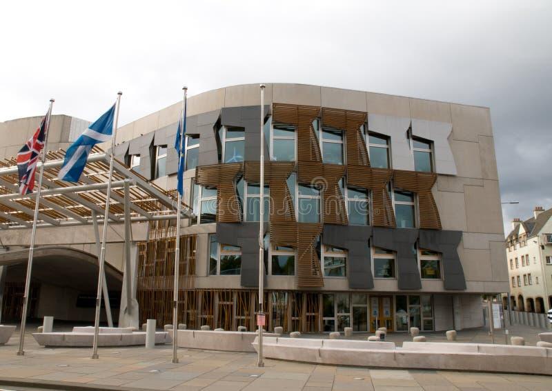 parlamentu scottish zdjęcie royalty free