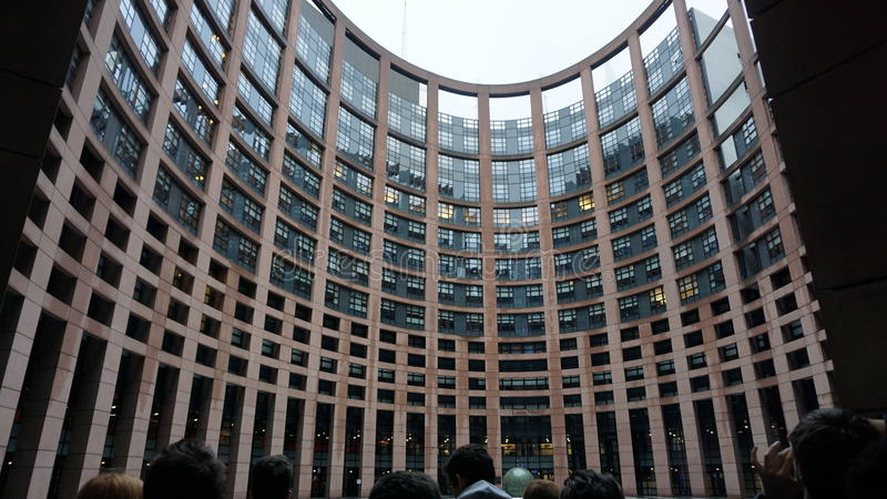 Parlement européen lizenzfreie stockfotografie