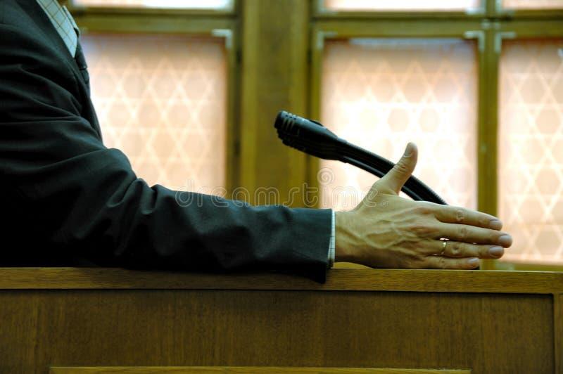 Parlementaire toespraak royalty-vrije stock fotografie