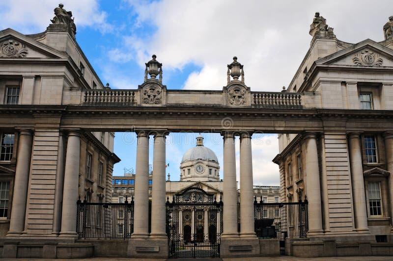 Parlementsgebouw royalty-vrije stock afbeelding