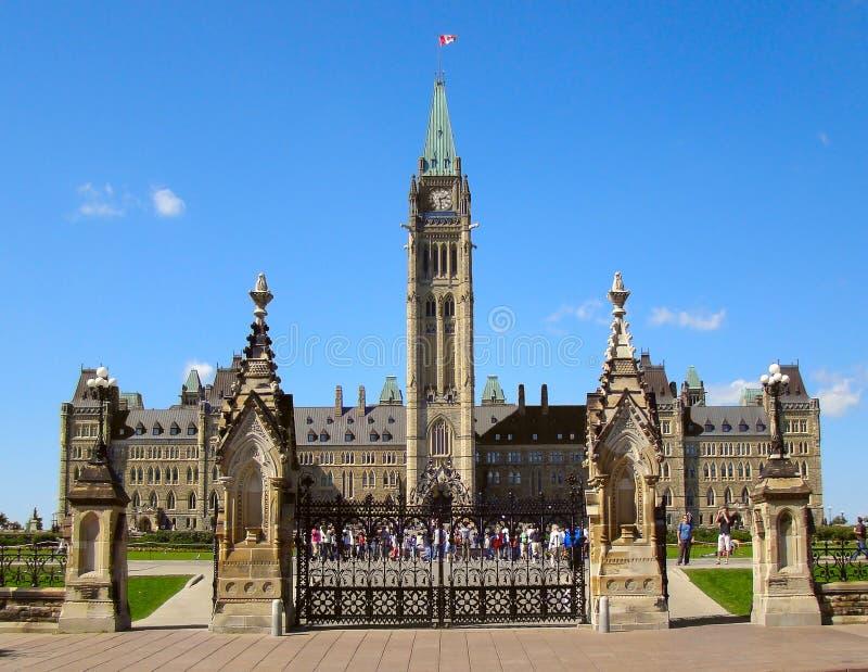 Parlementsgebouw stock foto's