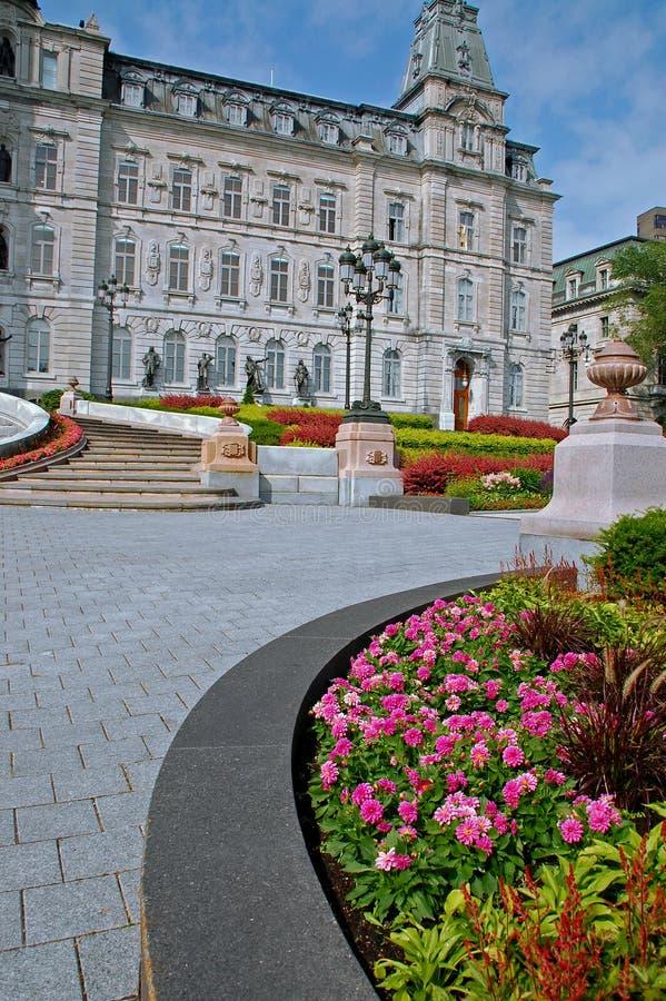 Parlementsgebouw, de Stad van Quebec royalty-vrije stock foto