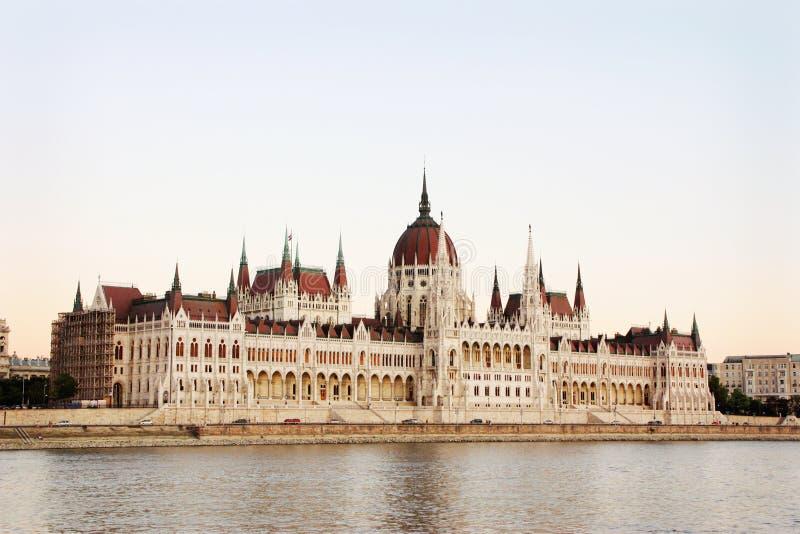 Parlementsgebouw Van Boedapest royalty-vrije stock foto's