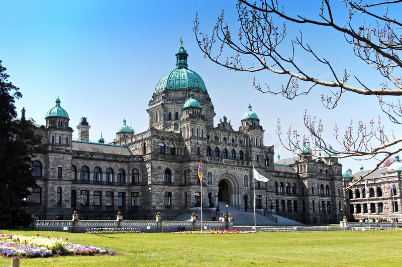 Parlementsgebouw Van Canada stock afbeeldingen