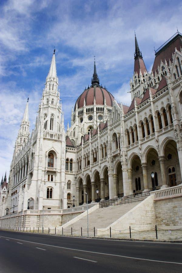 Parlementsgebouw Van Hongarije stock afbeelding
