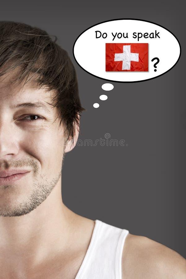 Parlez-vous Suisse ? photographie stock