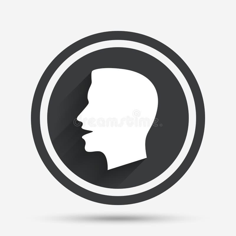 Parli o parli l'icona Simbolo di rumore forte royalty illustrazione gratis