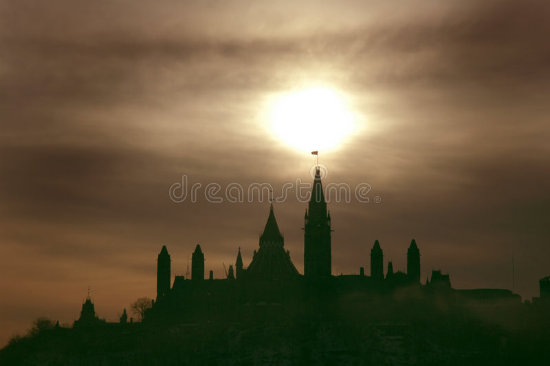 Download Parliament stock image. Image of hill, border, outaouais - 451507