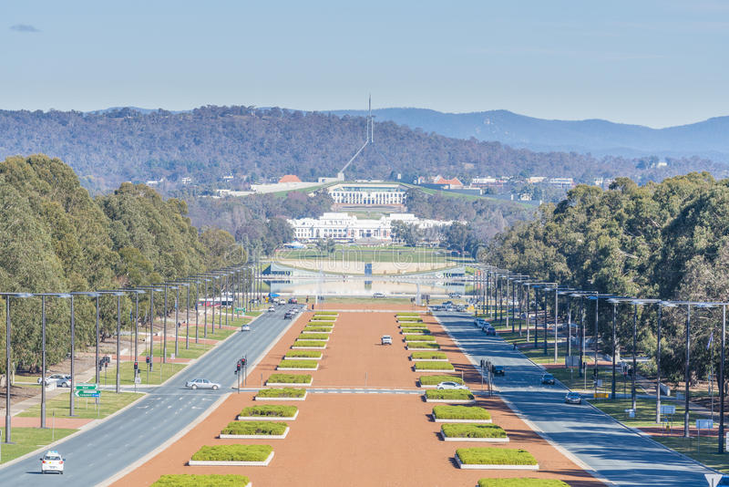 Parliament of Australia in Canberra royalty free stock photo