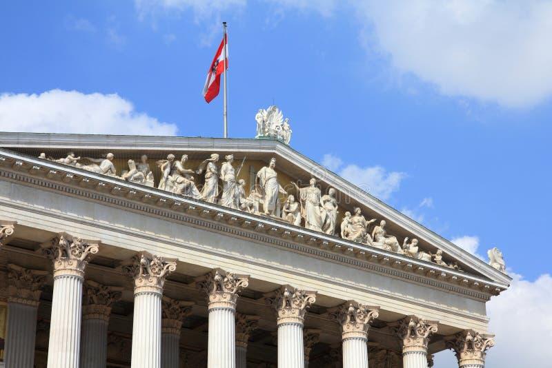 Parliament of Austria stock images