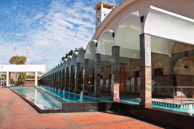 Parliament of Botswana. Building of the Botswana parliament in Gaborone royalty free stock photo