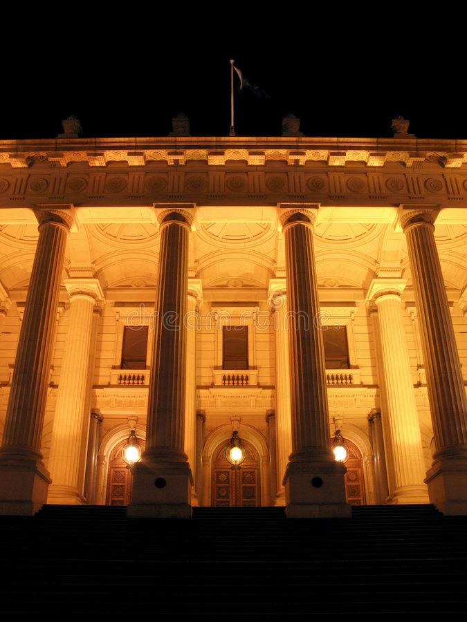 Parliament Building, Melbourne, Australia stock image