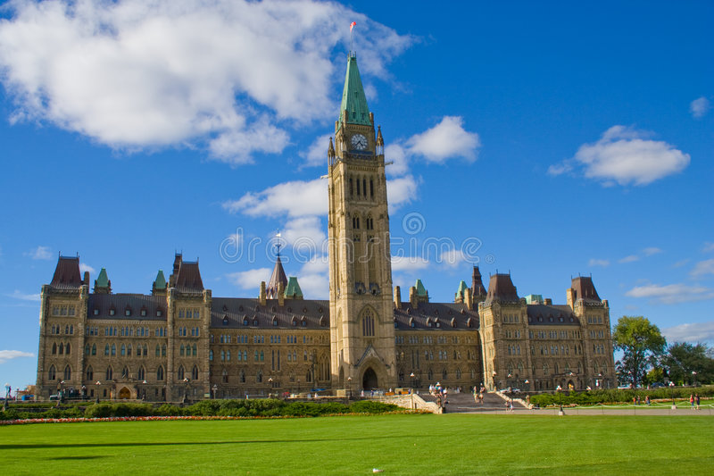 Download Parliament of Canada stock photo. Image of symbol, tourism - 5741808