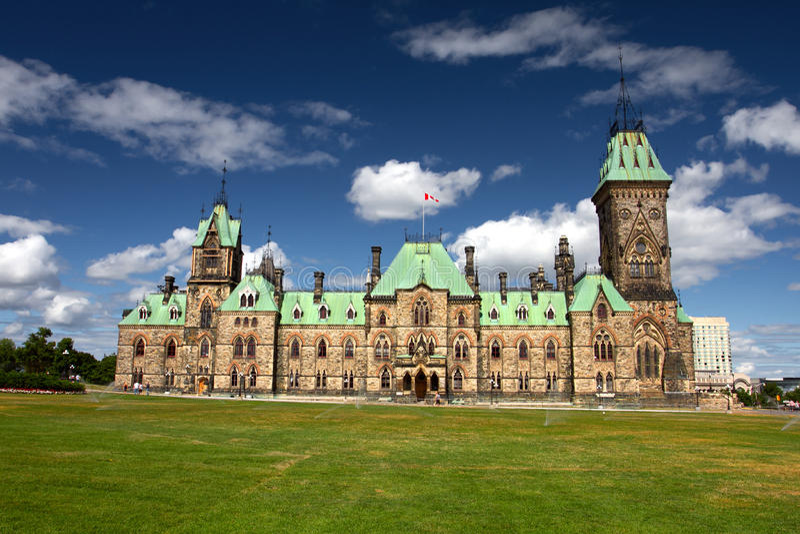 Parliament Hill, Ottawa, Canada stock image