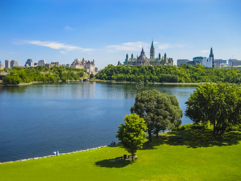 Parliament Hill, Ottawa, Canada royalty free stock images