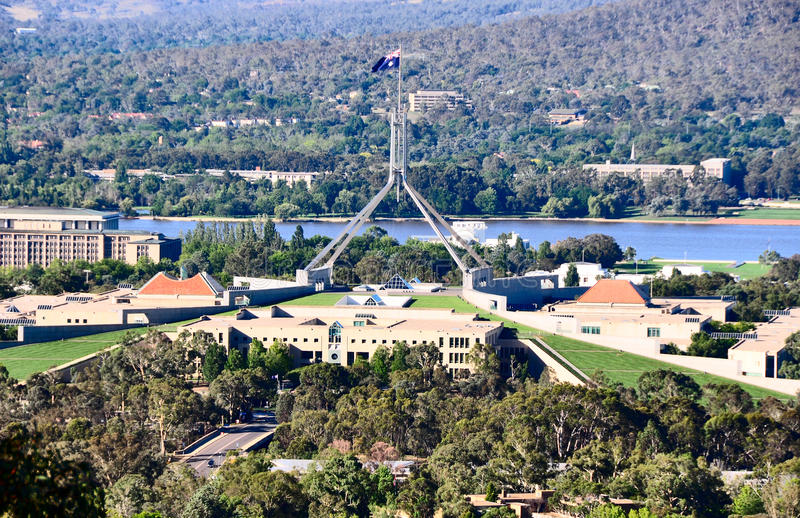 Parliament House Canberra royalty free stock photography