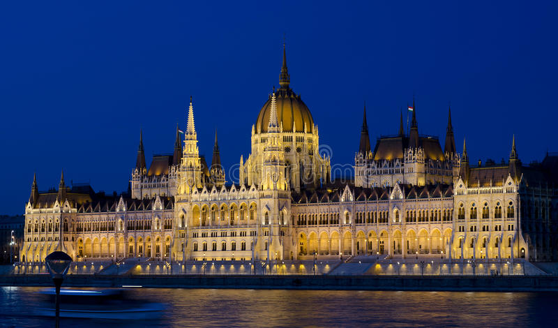 Parliament Of Hungary Royalty Free Stock Images